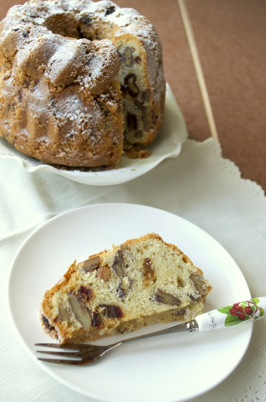 Dates and Walnut Cake