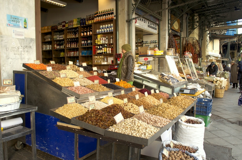 Central food market - Athens