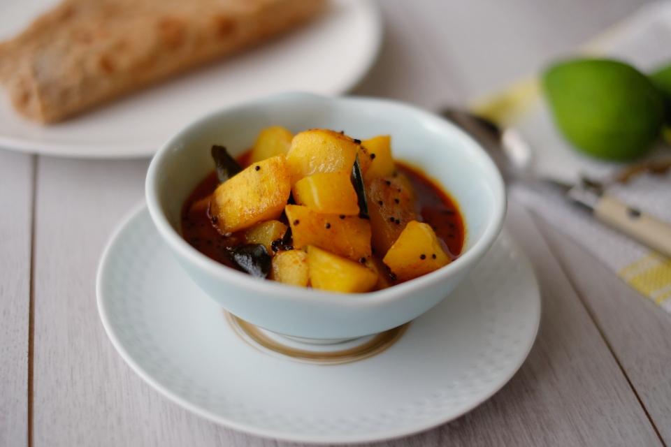 Green Mango curry - Keralan style