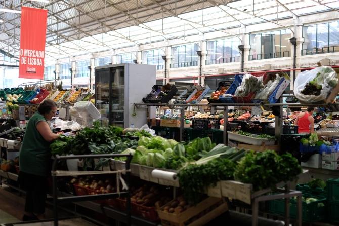 Lisbon market