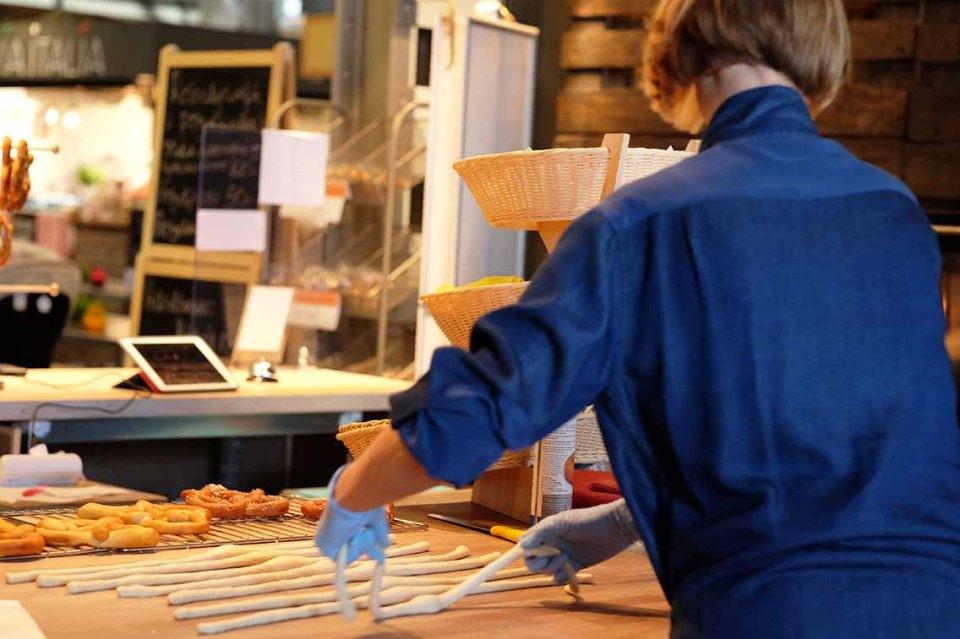 Oslo food market